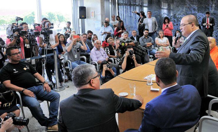 Governador Ibaneis Rocha. Foto: Renato Alves/GDF