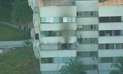 Incêndio em apartamento na Asa Norte deixa dois mortos