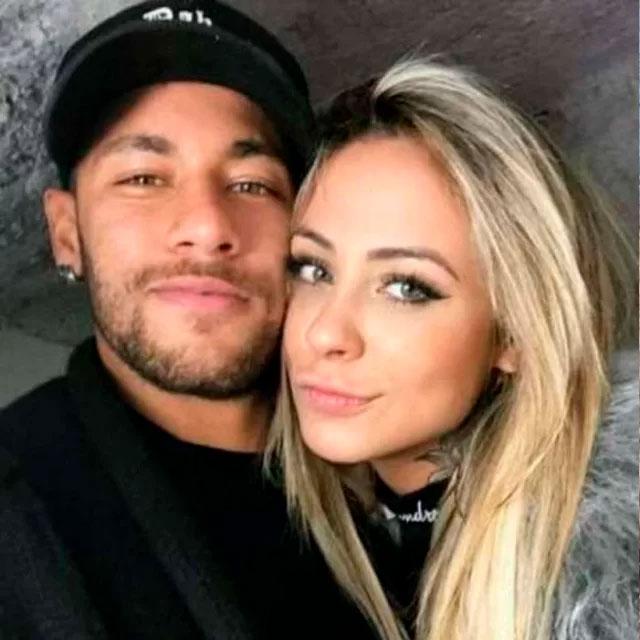 Neymar e Bruna Melissa. Foto: Reprodução/Instagram