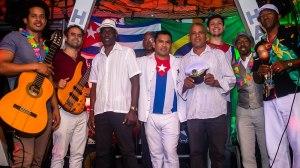 O Grupo Sabor de Cuba em uma apresentação no Pá La Rumba. Foto: Shipeiagênciacriativa