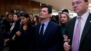"""Moro: """"No mundo real, não existe crise no governo"""". Foto: Michel Jesus/Câmara dos Deputados"""