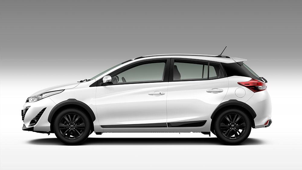 Toyota inicia vendas do Yaris X-Way no mercado nacional