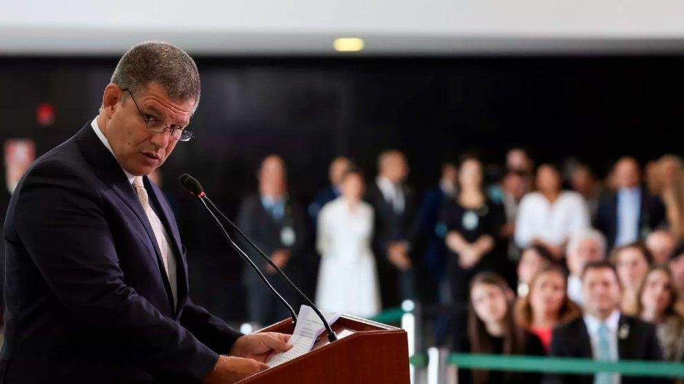 Bolsonaro demite Gustavo Bebianno da Secretaria-Geral. Foto: Marcos Corrêa/PR