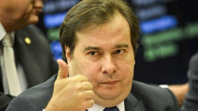 'Vou me filiar ao MDB': Rodrigo Maia confirma saída do DEM