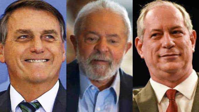 """Bolsonaro: """"Se direita bater muito, vai ter que escolher entre Lula e Ciro"""""""