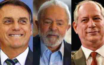 Bolsonaro Lula e Ciro