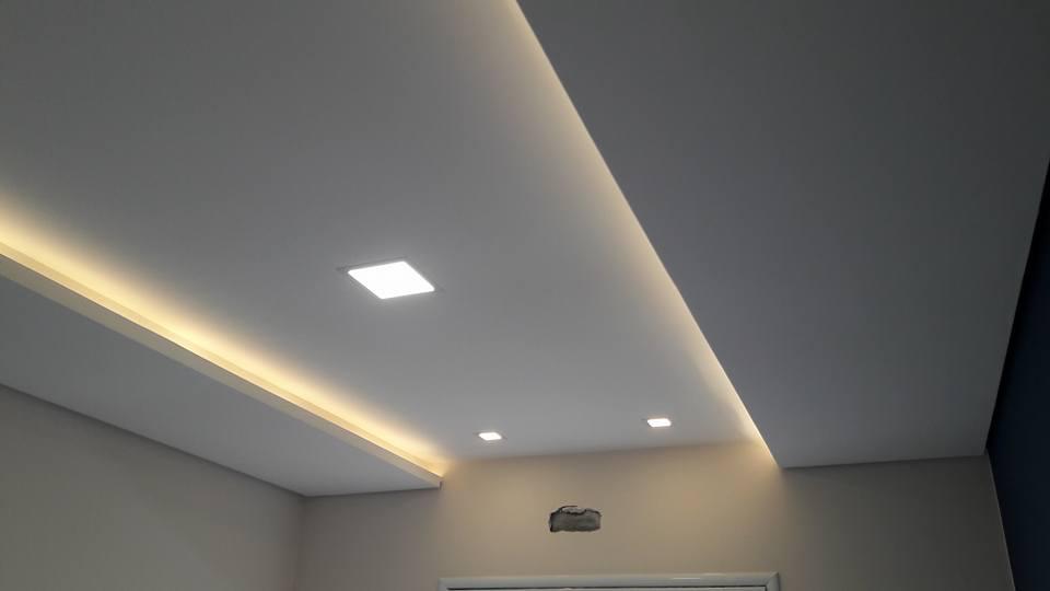 1 Bedroom Apartment Interior Design Sancas Gesseiro Em Hortolandia