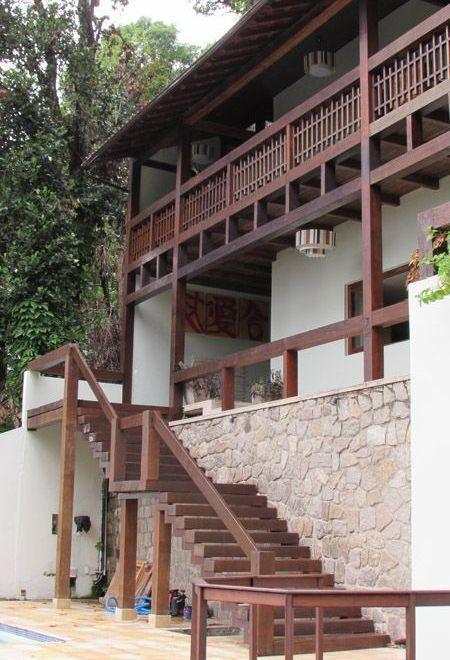 Casa Verde, decoración exquisita en la Floresta de Rio de Janeiro