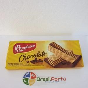 foto Biscoito Bauduco Wafer Chocolate 140g
