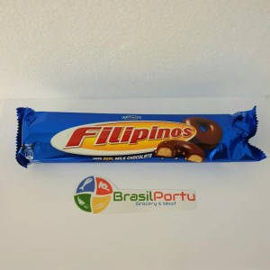 fotos Biscoito Filipinos Chocolate Leite 135g