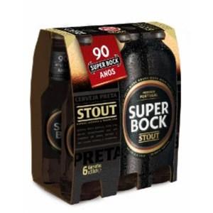 foto Cerveja Preta Super Bock 6 und