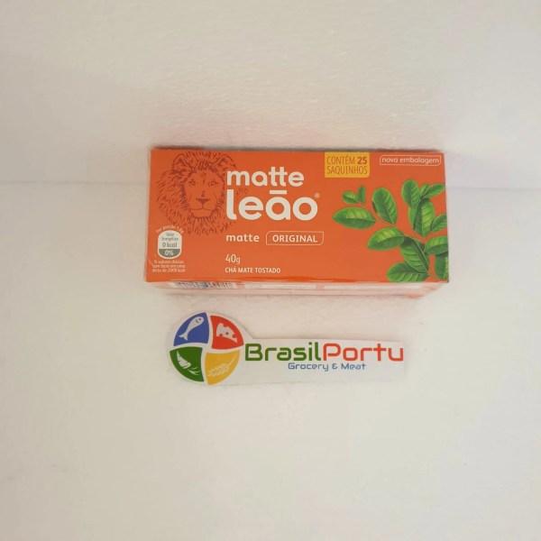 foto Chá Matte Leão 40g