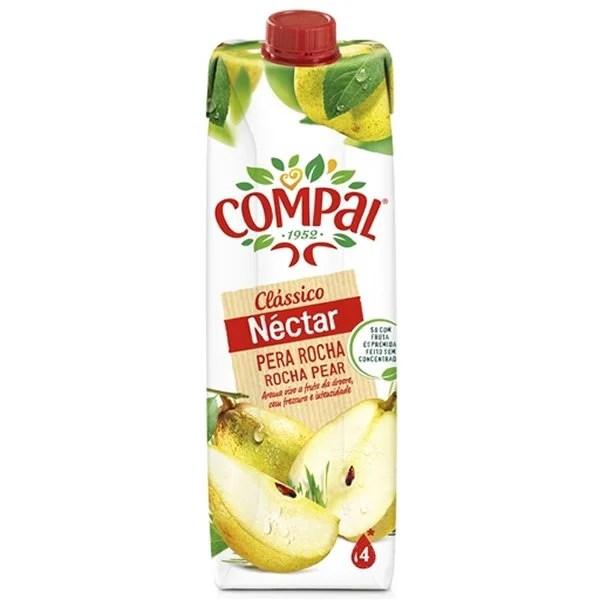 foto Compal Nectar Pera Rocha 1L
