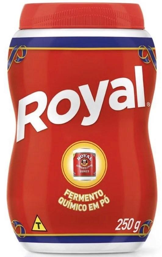 foto Fermento em Pó Royal 113g