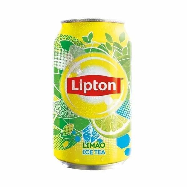 foto Ice Tea Lipton Limão Lata
