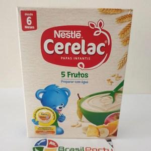 foto Nestlé Cerelac 5 Frutos 250g
