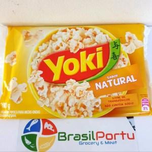 fto Pipoca Microondas Natural Yoki 100g