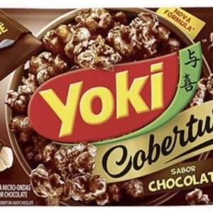 foto Pipoca Microondas chocolate Yoki 100g