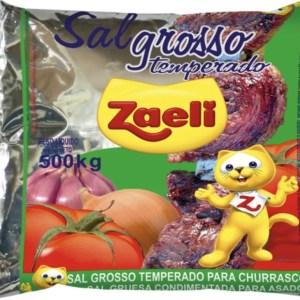 foto Tempero para churrasco Zaeli 500g