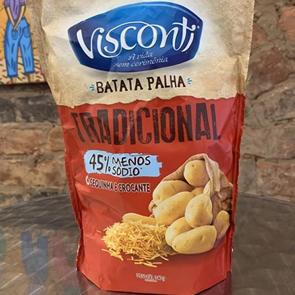 foto Batata Palha Visconti 140g