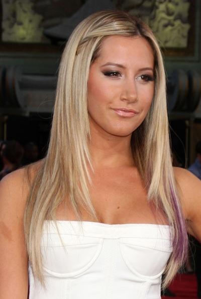 Ashley tisdale breast size