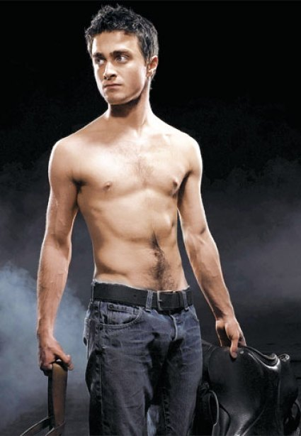 Daniel Radcliffe Chest and Biceps Size