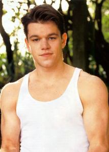 Matt Damon Chest and Biceps Size