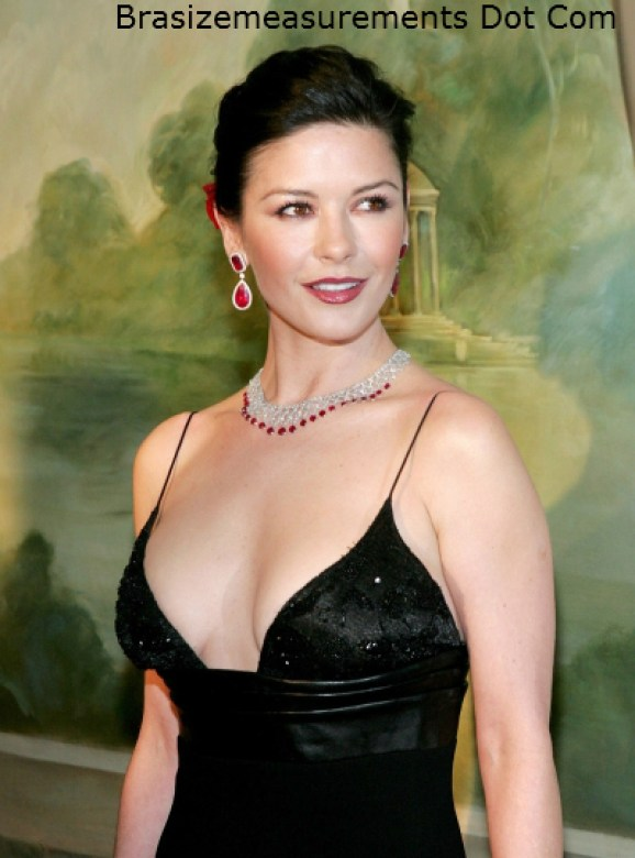 Catherine Zeta Jones Bra Size