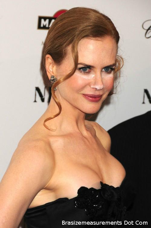 Nicole Kidman Bra Size
