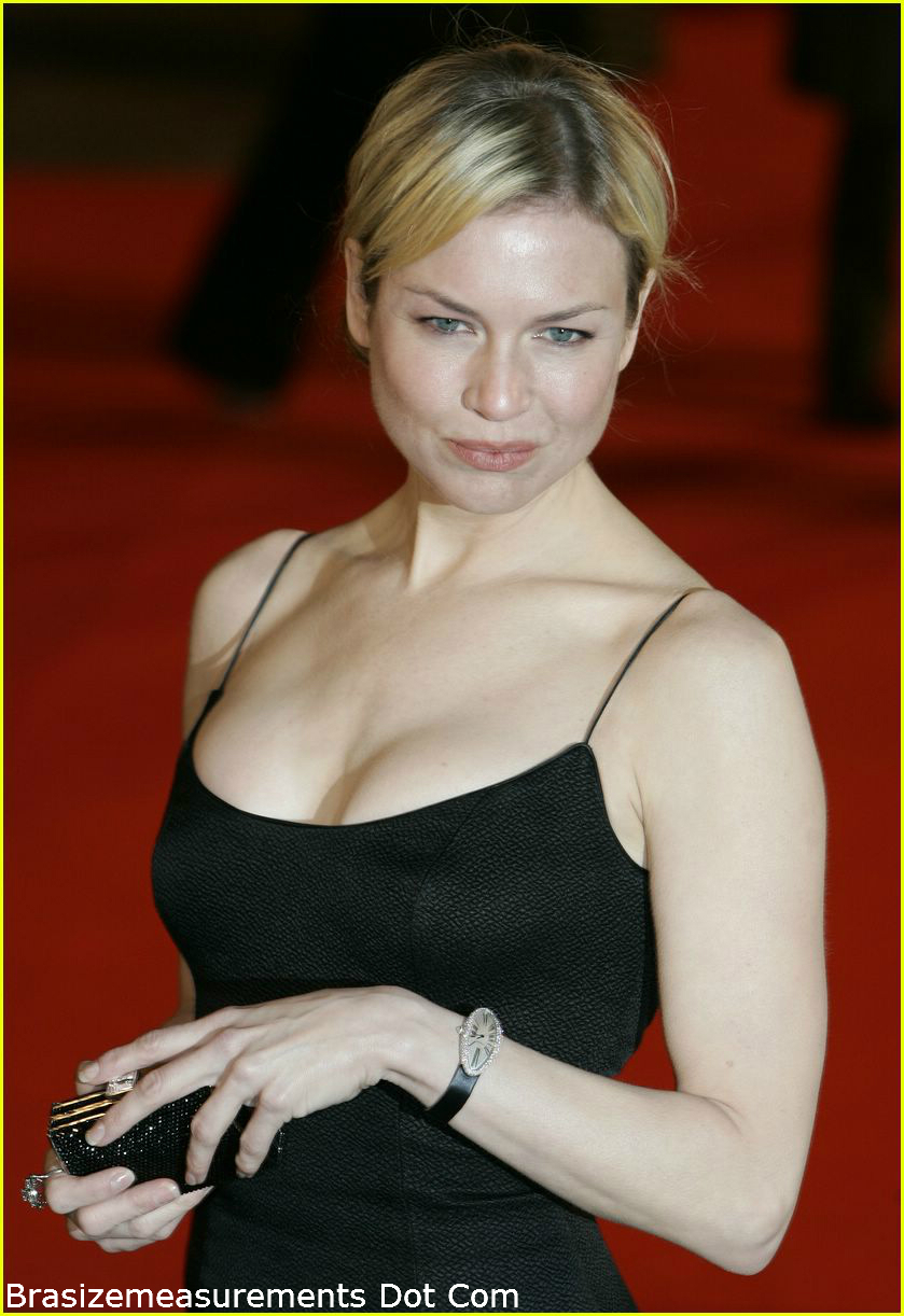 Renée Zellweger Bra Size
