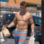 Scott Eastwood Biceps Size