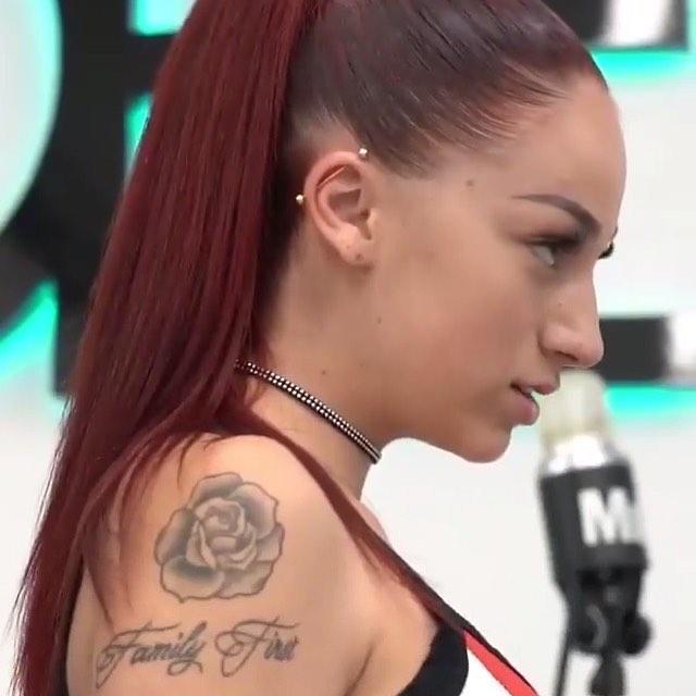 Danielle Bregoli Tattoo Family First Rose