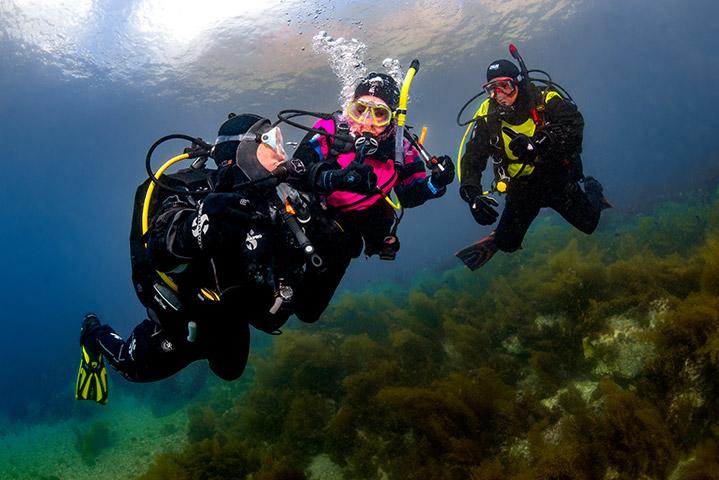 Dry Suite Diver (Photo Credit - PADI)