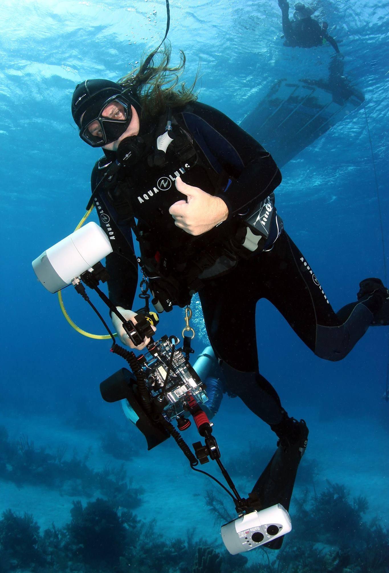 Digital Underwater Photographer (Photo Credit - )