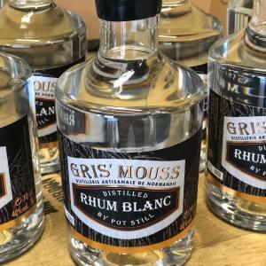 rhum blanc brasserie gris'mouss en normandie, vente de spiritueux et de bière