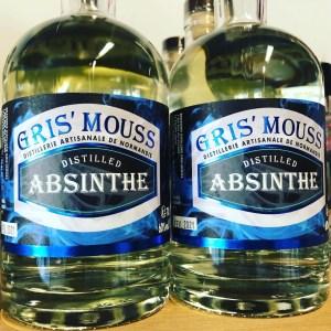 Absinthe brasserie Gris'mouss
