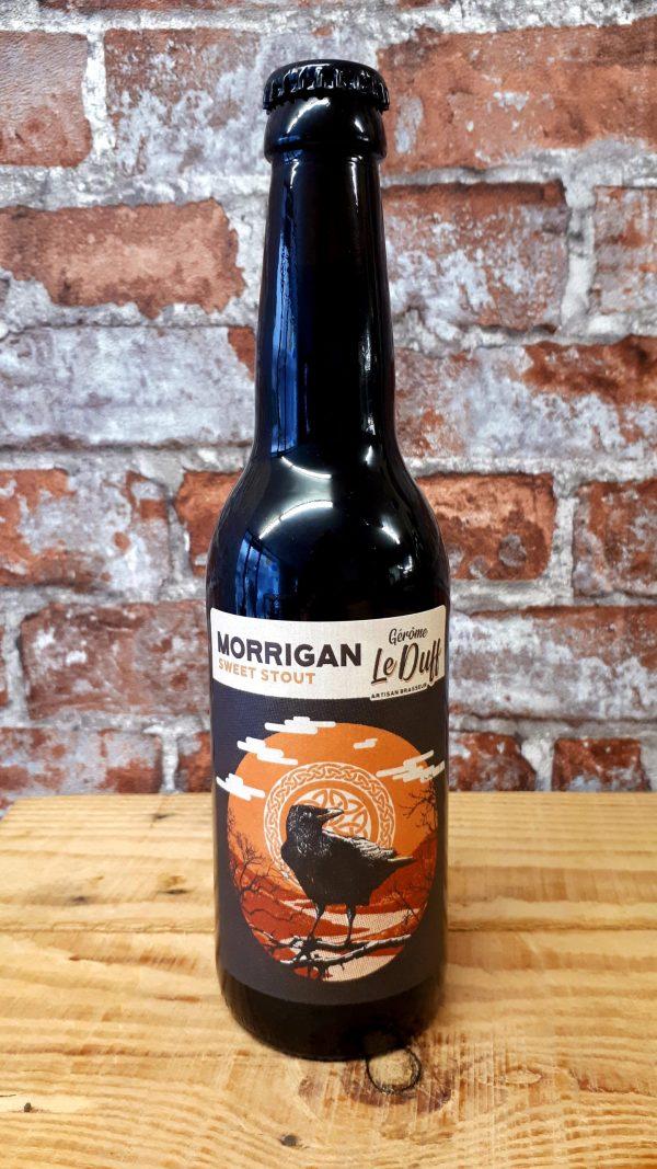 Bouteille 33 cl Morrigan bière noire