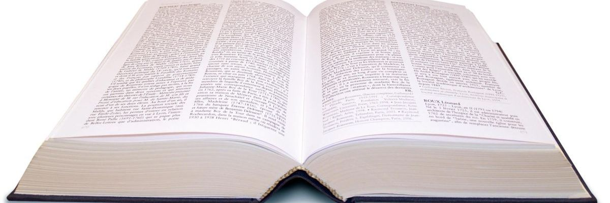Couverture page vocabulaire de brassage - illustration de livre ouvert