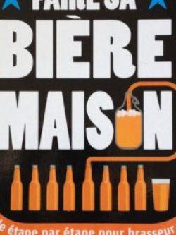 Page de garde du livre de brassage amateur Faire sa Bière Maison
