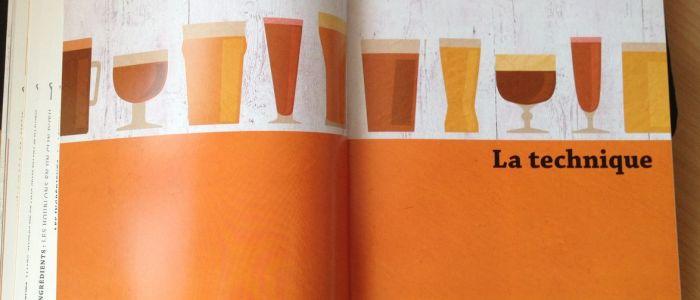 Page de garde sobre du chapitre sur la technique dans le livre Faire sa Bière Maison