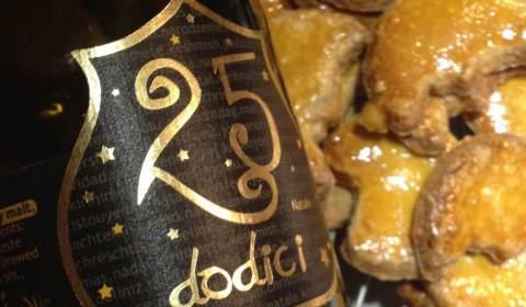 25 Dodici de Birra del Borgo, une bière brune idéale accompagnée de bredala, les gateaux de Noël traditionnels alsaciens - Dégustation BeeryChristmas