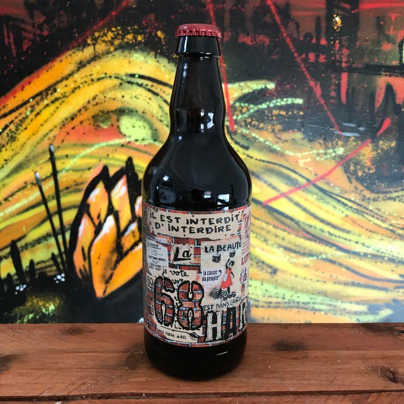 Bouteille bière artisanale 68Hard