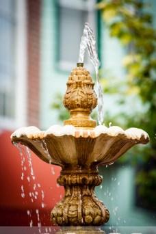 Water fountain Washington Street Mall, Cape May NJ