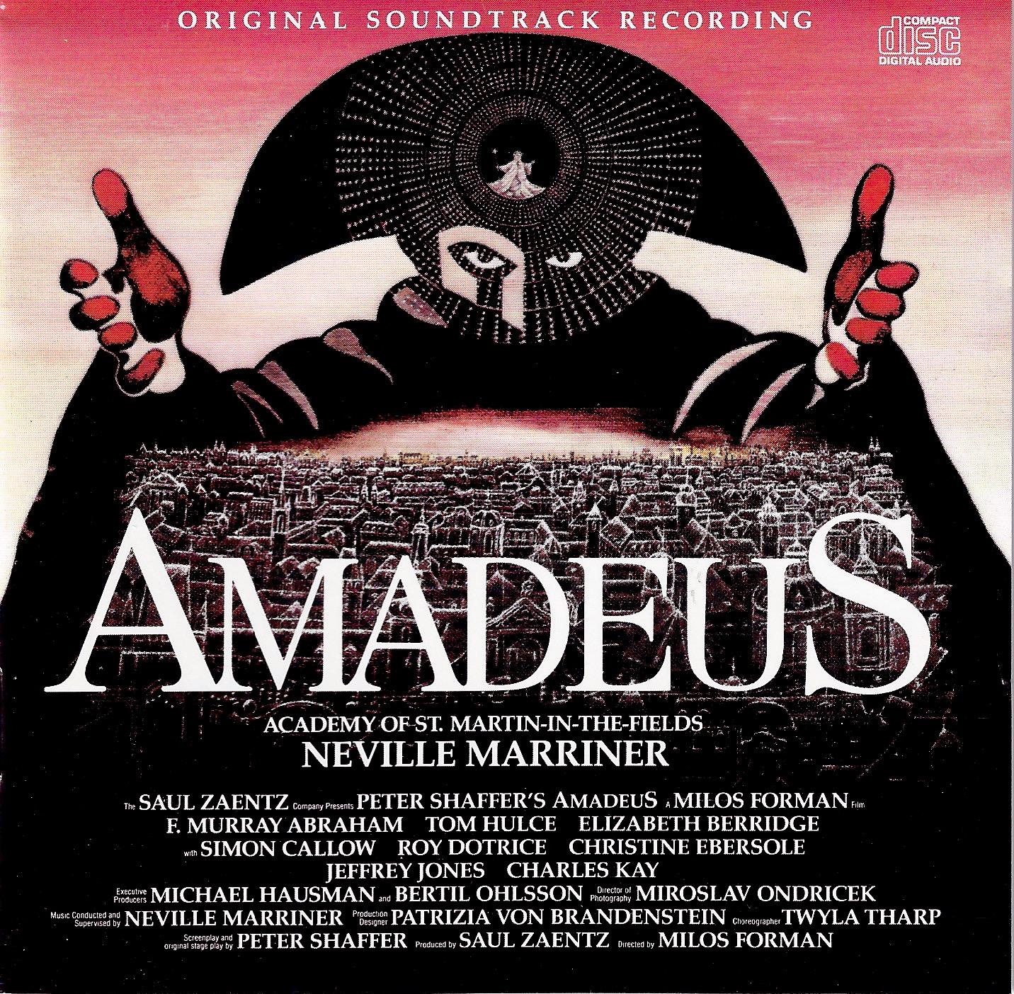 Amadeus: Original Soundtrack Music by Wolfgang Amadeus ... Wolfgang Amadeus Mozart Musical