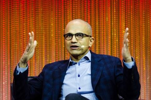 Satya Nadella CEO of Microsoft