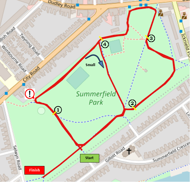 Summerfield Smash Route