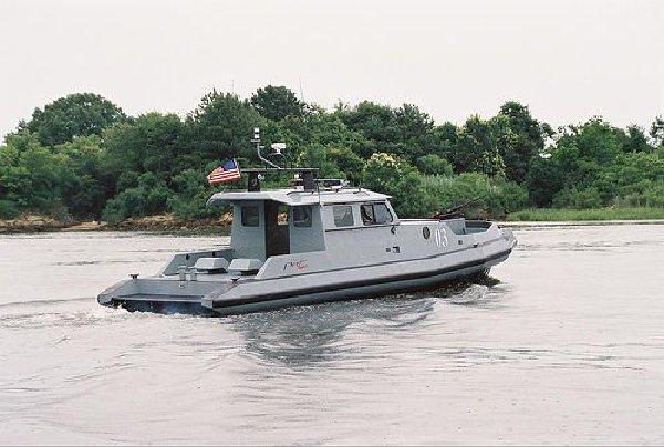 NAVY 40FT HIGH SPEED PATROL AND ANTI-PIRACY BOAT