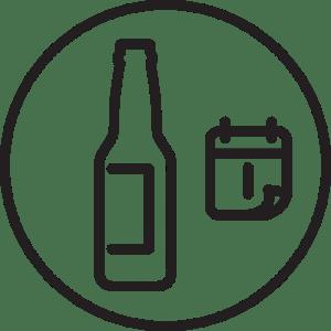 Button für Saisonbiere der Braumanufaktur Schmalkalden
