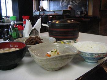 Teishoku de salmão Sushi Kiyo (R$ 24)