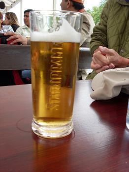 Ótimas cervejas tchecas, mas sempre em tamanho grande